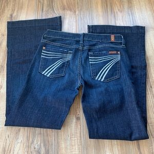 7 for all man kind dogs jeans 26x30